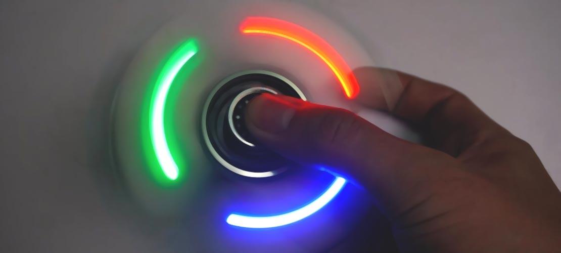 Fidget Spinners électroniques