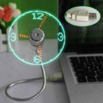 USB Ventilateur - Horloge