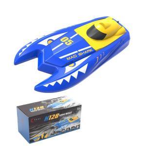 rc bateau rapide bleu