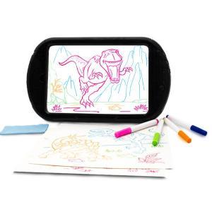 dinosaure 3d brillant dessin tablette