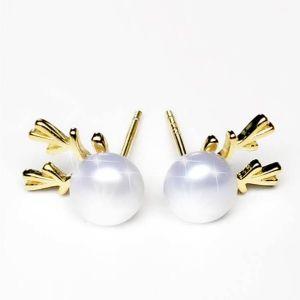 boucles d'oreilles perle uv