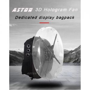sac d'hologramme de ventilateur portable 3d
