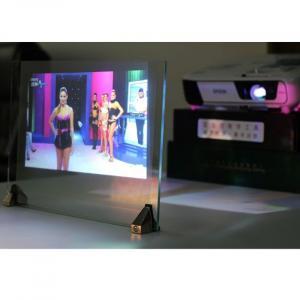 3d holographique film de projection applications