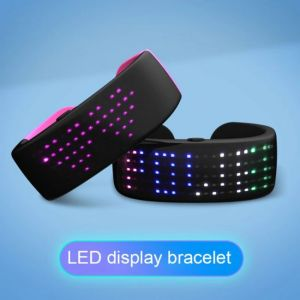 Affichage de bracelet LED futuriste
