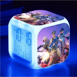 Horloge numérique à changement de couleur LED Battle Royale