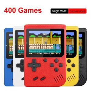 Console de jeu portable rétro 8 bits avec 400 jeux intégrés
