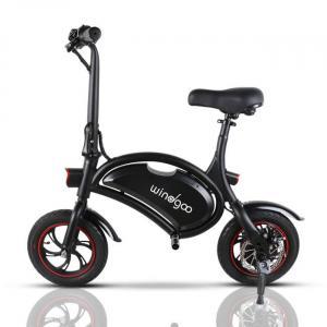 Noir vélo électrique pliable facile