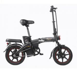 Vélo électrique A5 avec un kilométrage élevé et facilement pliable